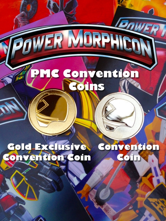 Power Morphicon Convention Coins