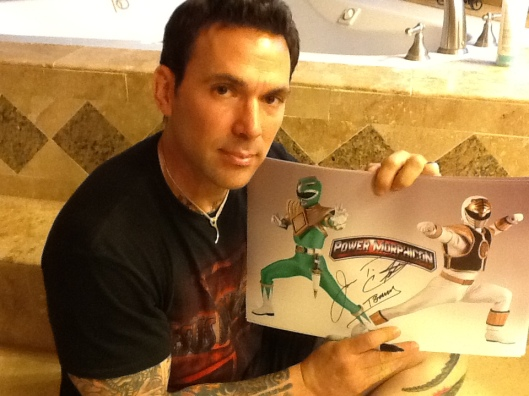 Jason David Frank Autographed Power Morphicon Prints