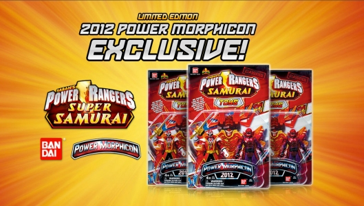 The First Ever Power Morphicon Toy Exclusive!
