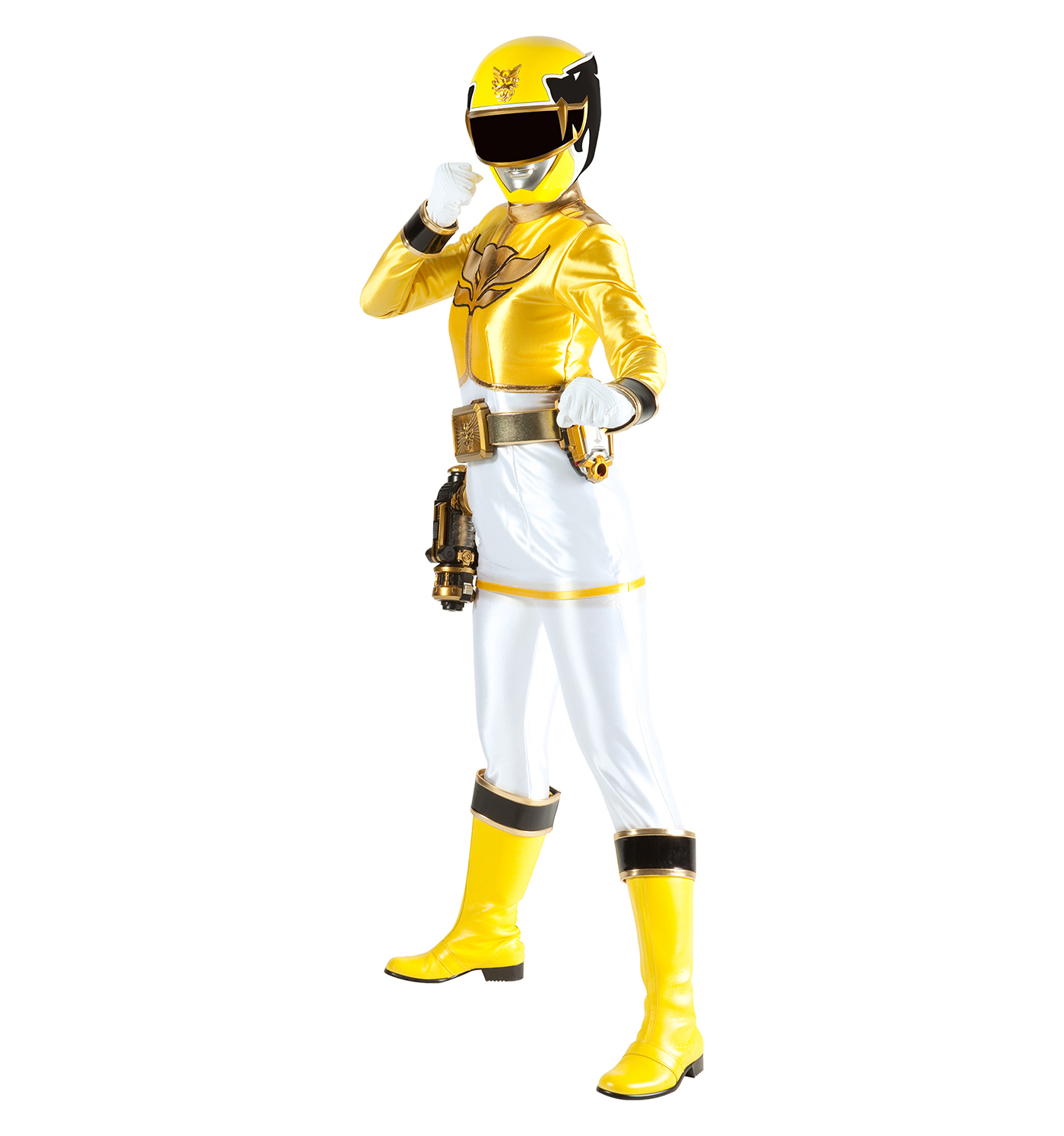 yellow power ranger megaforce - photo #9