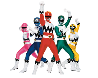 Lost galaxy power rangers