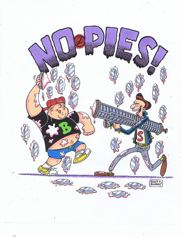 NO PIES!