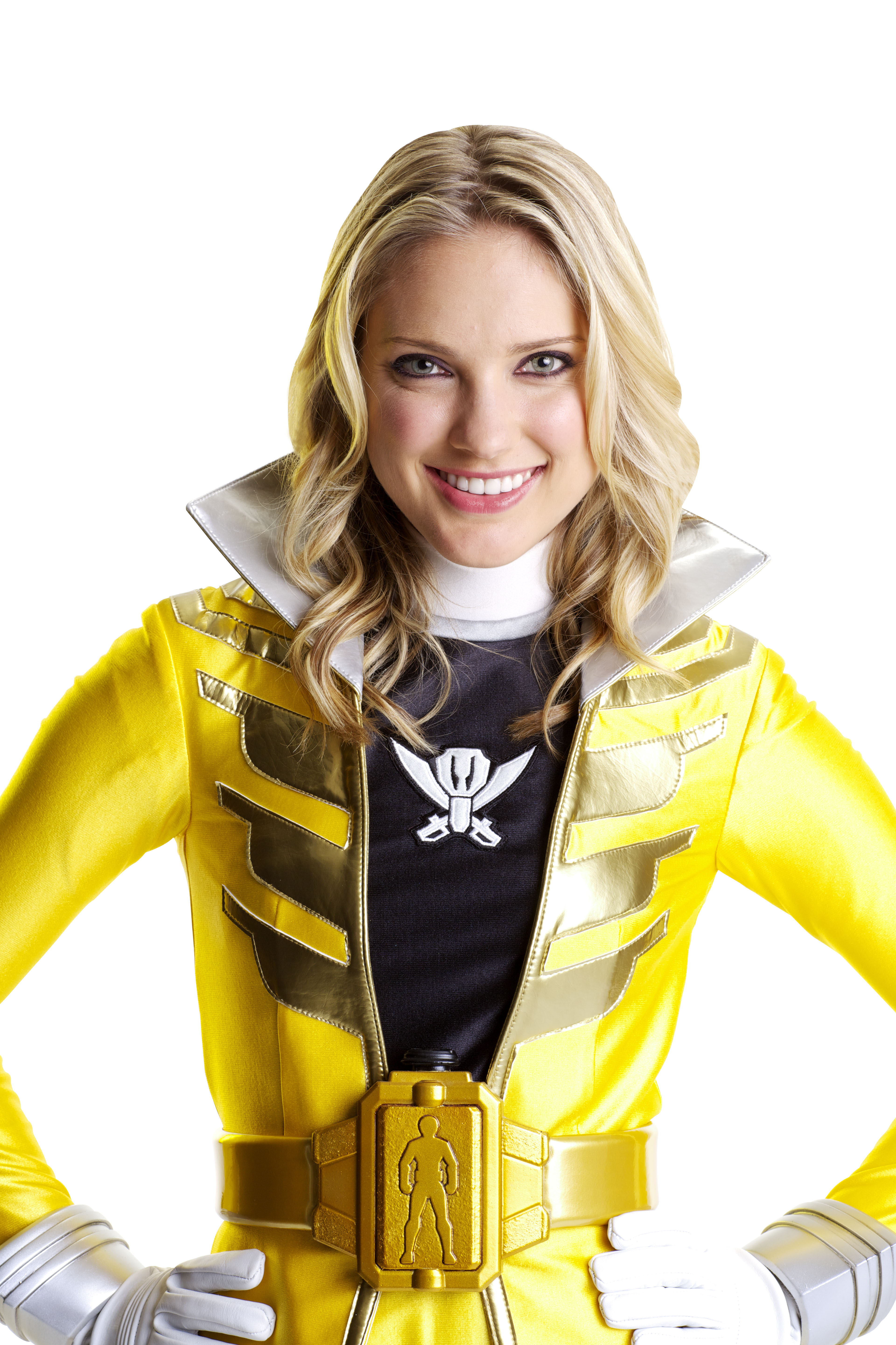 yellow power ranger megaforce - photo #2