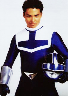 Power Rangers Time Force Blue Ranger