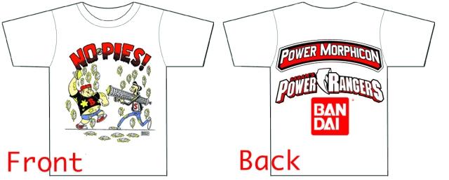 PMC4 nopie T-shirt t